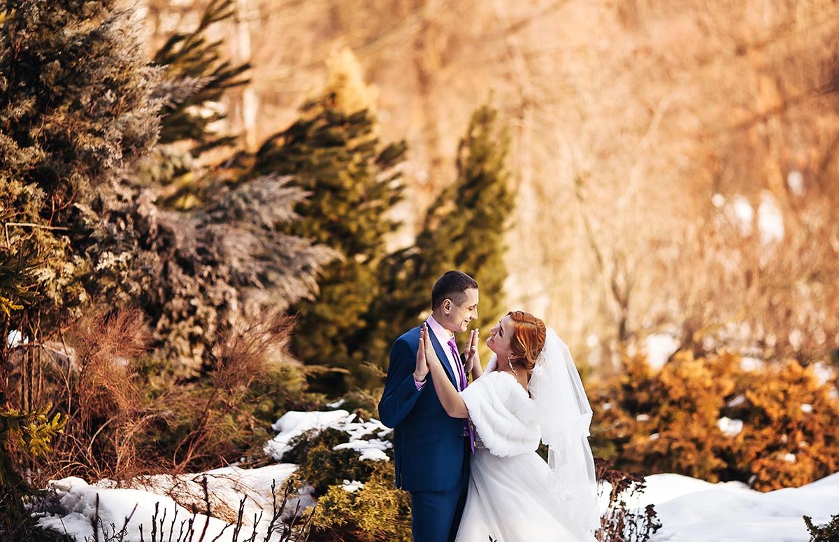 свадьба зимой харьков фото