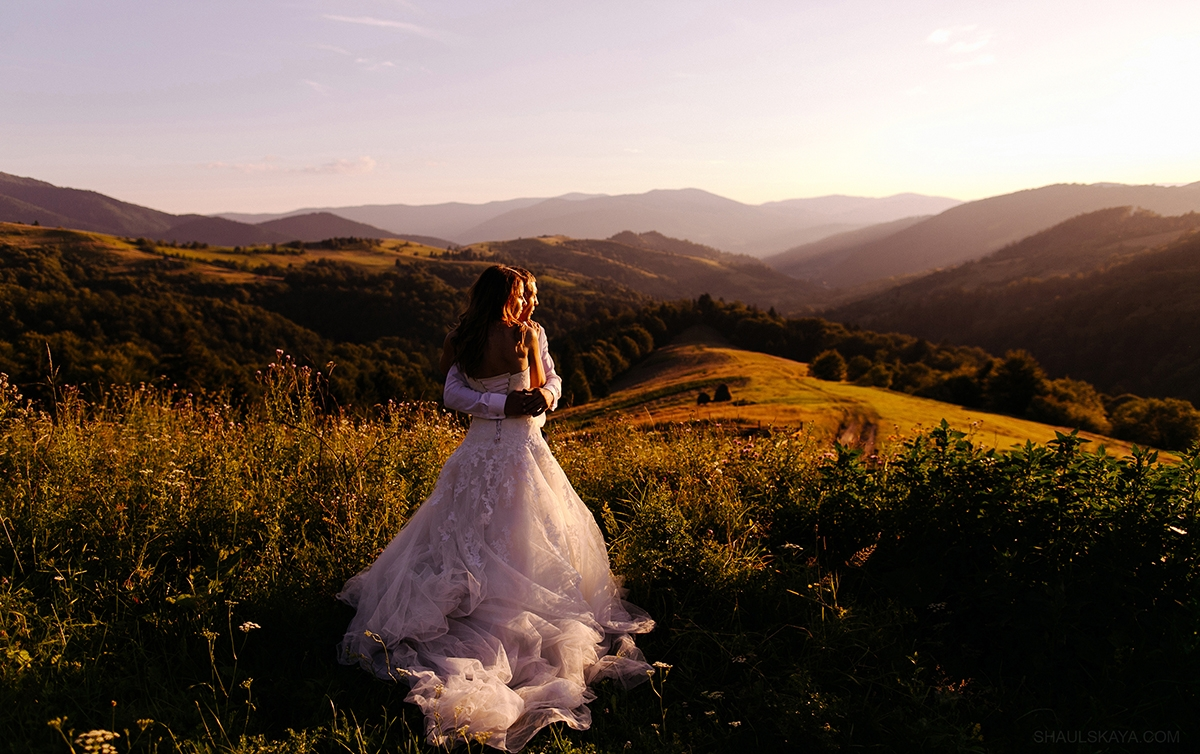 свадебная фотосессия в Карпатах фото