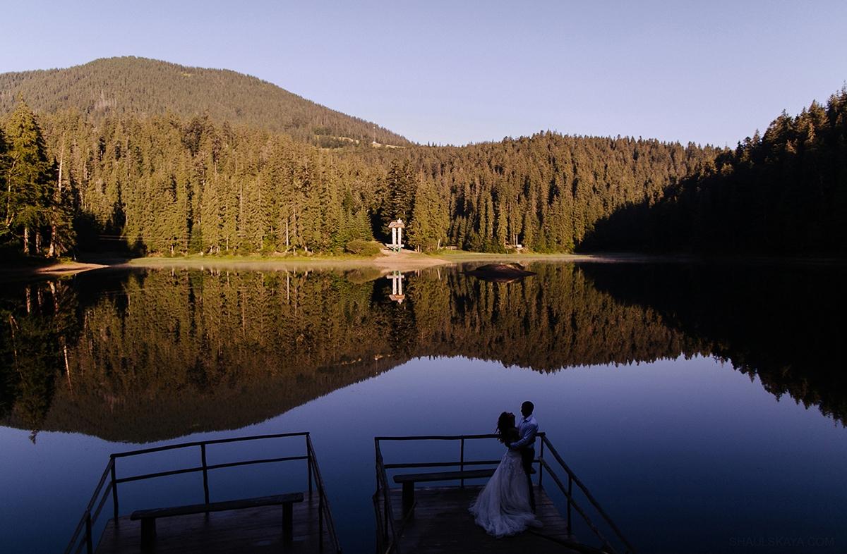 Синевир свадебное фото