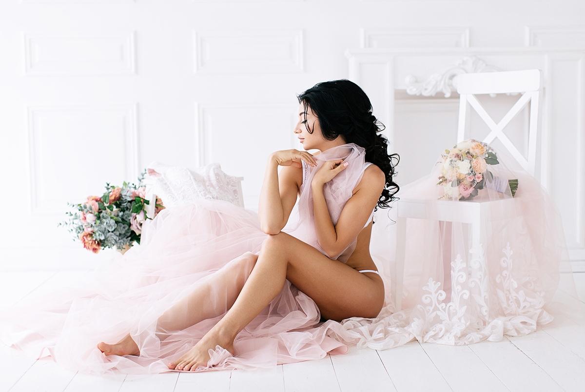 будуарные сборы невесты фотосессия в белье Харьков фото