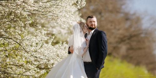 свадьба весной фото