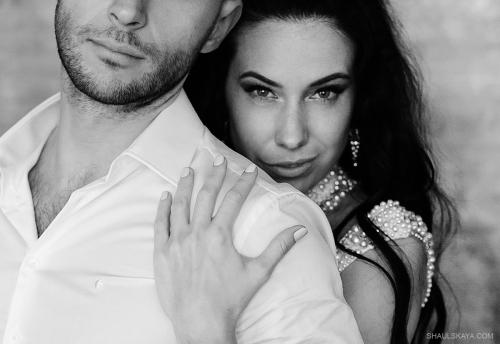 чёрно-белый портрет невесты Харькоф фото