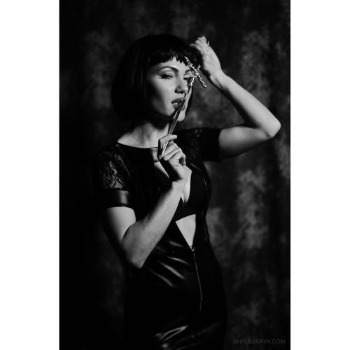 чёрно-белая женская фотосессия Харьков фото