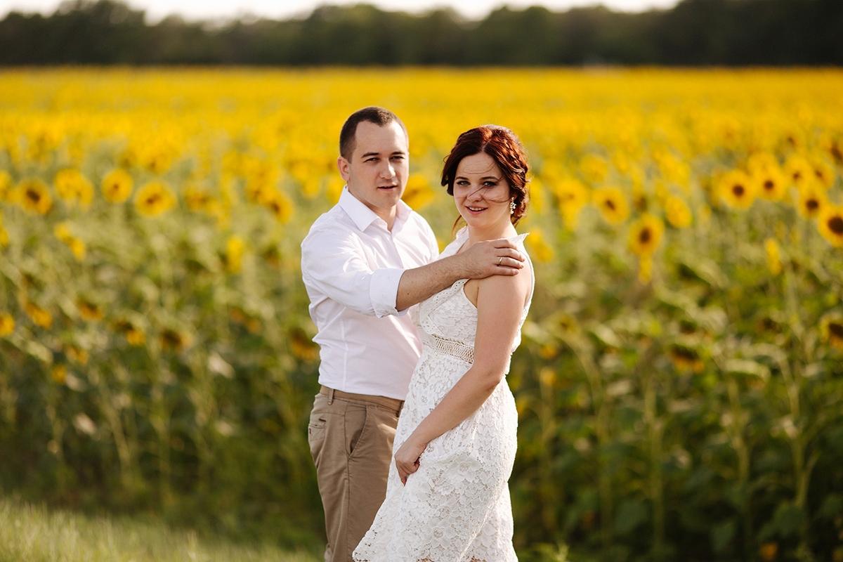 свадьба в подсолнухах Харьков фото