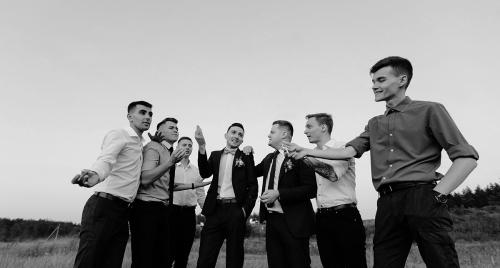друзья жениха мальчишник Харьков фото