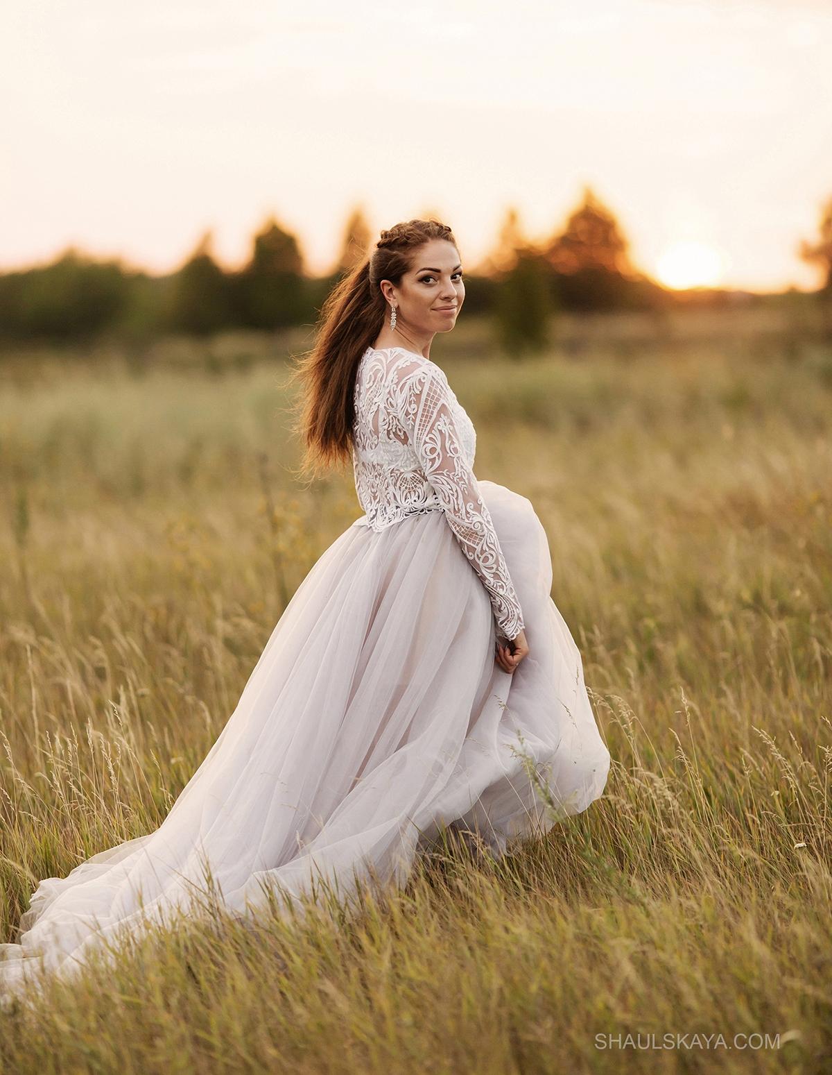свадебное платье образ невесты Харьков фото