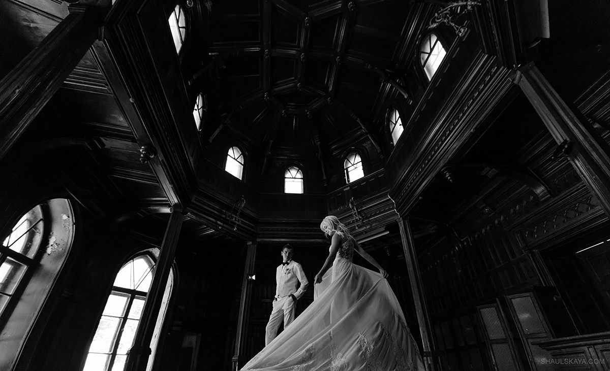 черно-белая свадебная фотография харьков