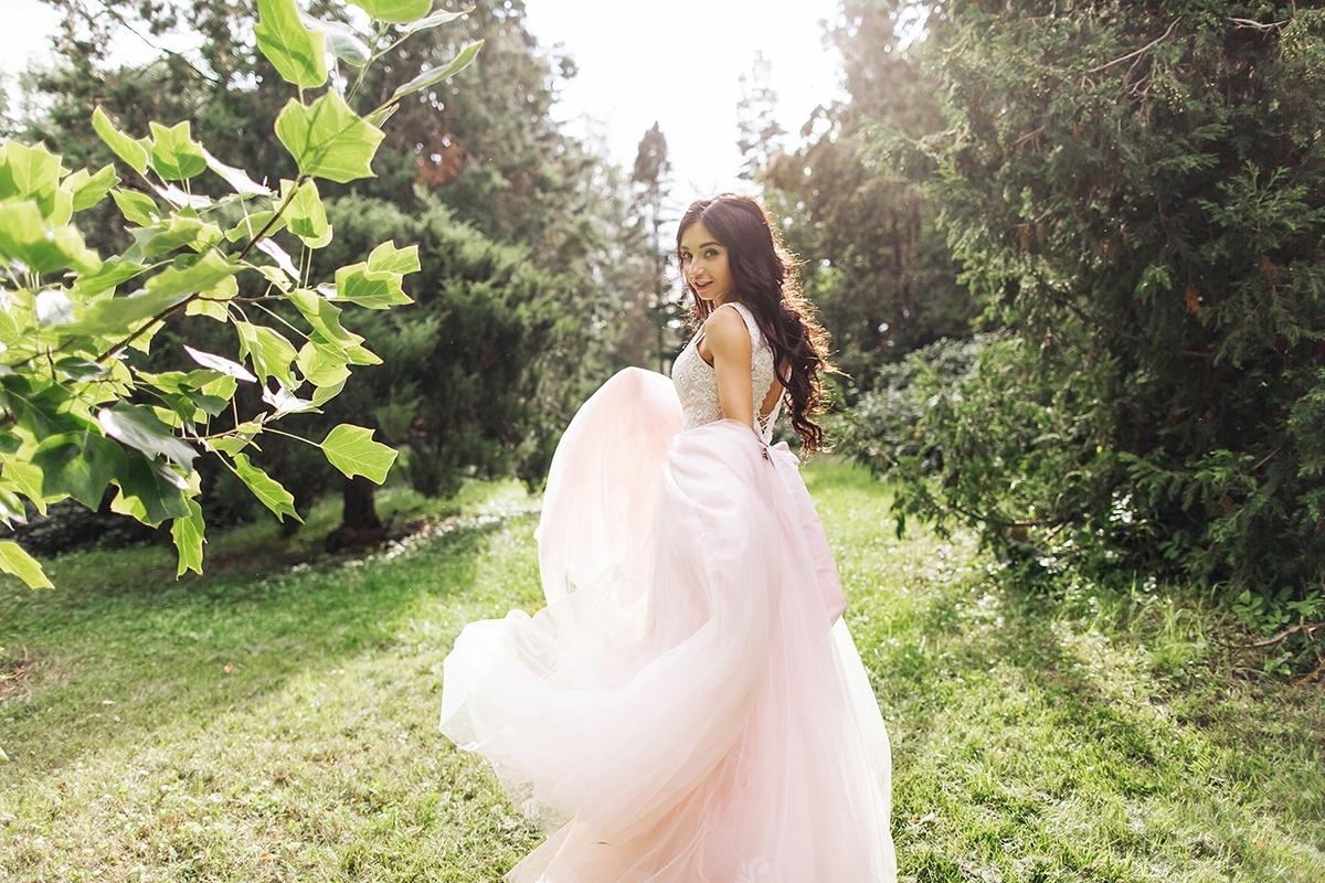 енвеста свадебное платье розовое платье Харьков фото
