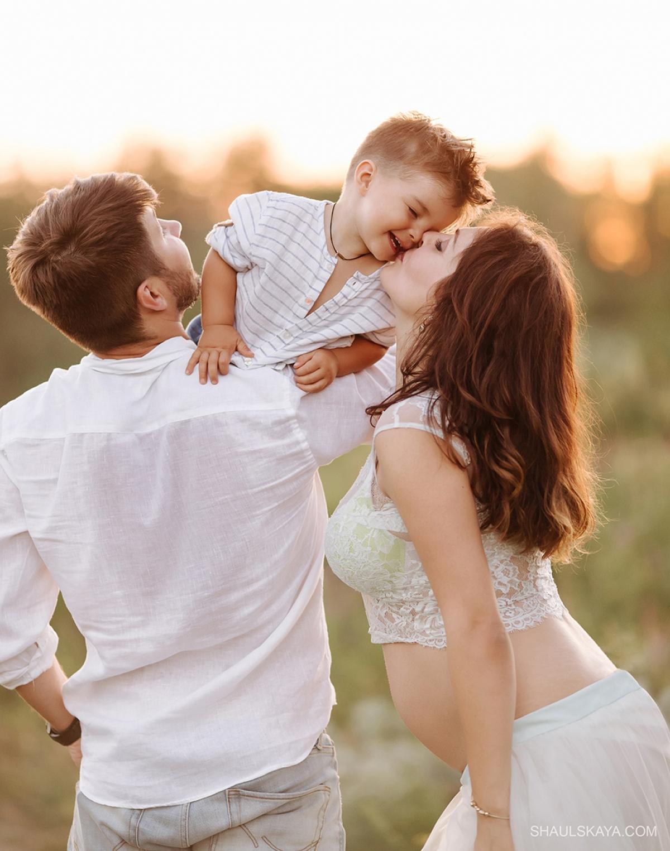 семейная фотосессия беременности Харьков фото