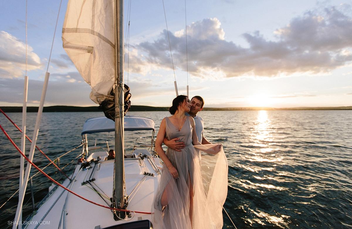 Прогулка на яхте Одесса фото