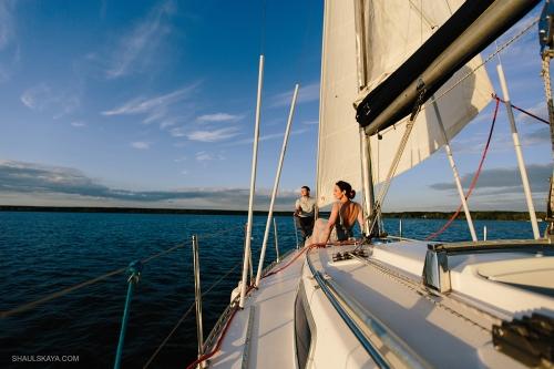 фотосессия на яхте Одесса фото