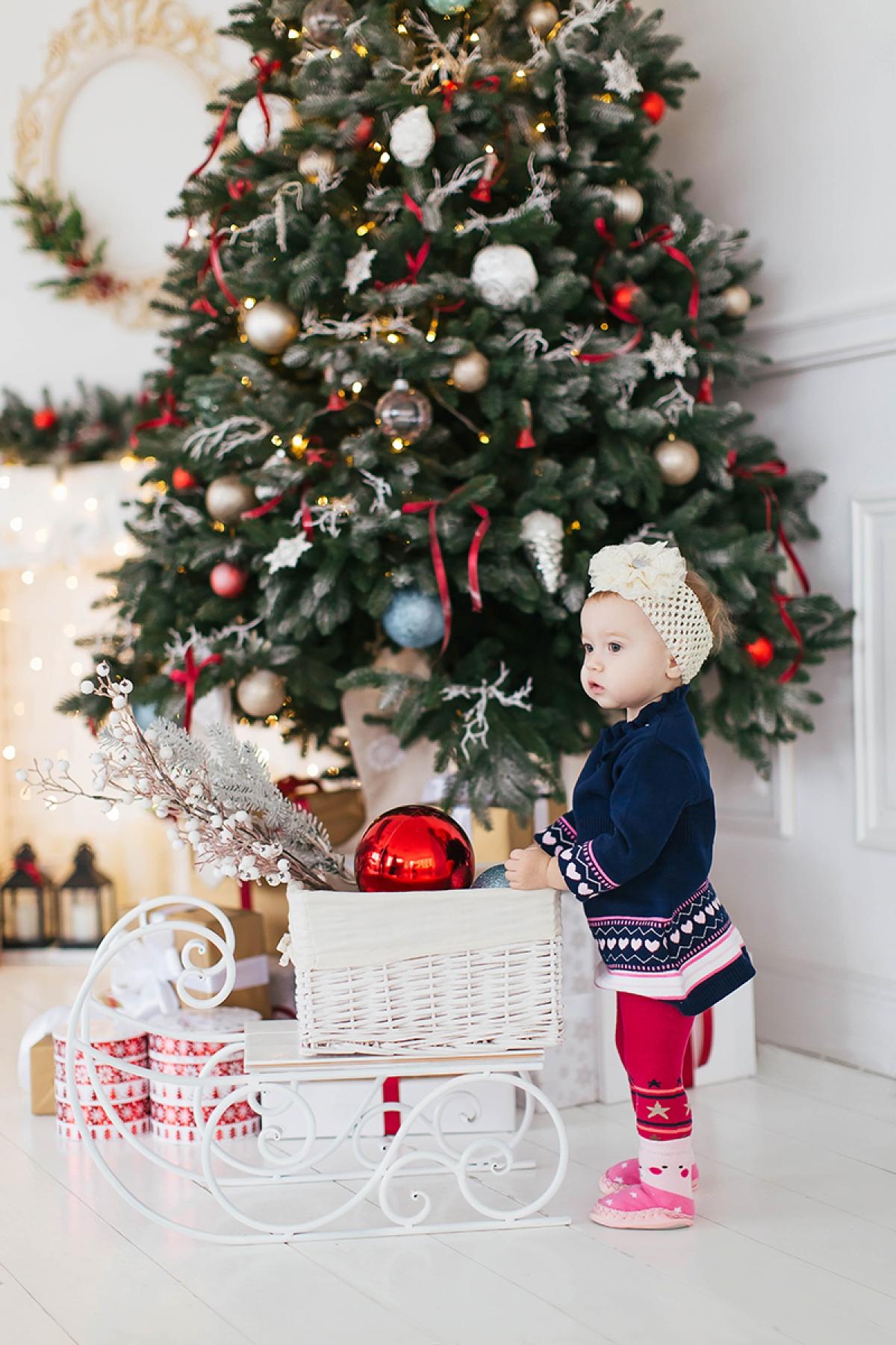 детская новогодняя фотосессия Харьков фото