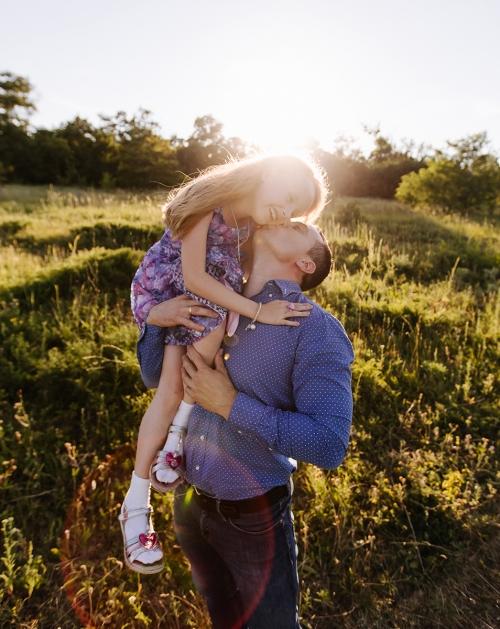 папа и дочь Харьков фото