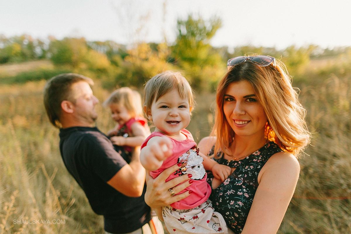 фотосессия с семьёй Харьков фото