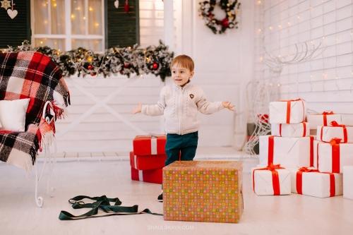 новогодняя семейная фотосессия Харьков фото