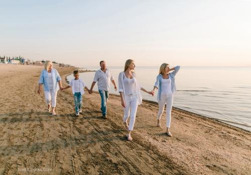 семейная фотосессия на море Одесса фото