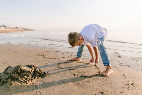 фотосессия на берегу моря Одесса фото